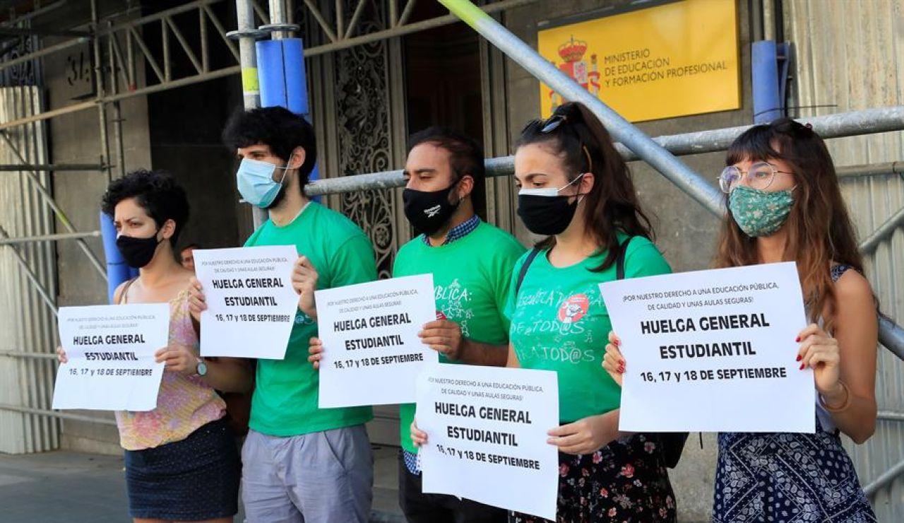Convocan huelga estudiantil por la vuelta al cole
