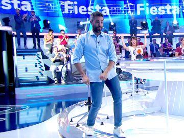 Roberto Leal se apunta a la 'Fiesta' de Raffaella Carrá en 'La Pista'
