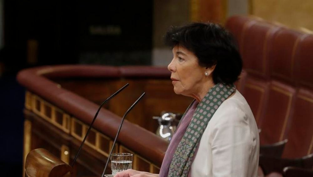 """Celaá afirma que no le consta que Iglesias le acusara de falta de liderazgo: """"No le he pedido explicaciones"""""""