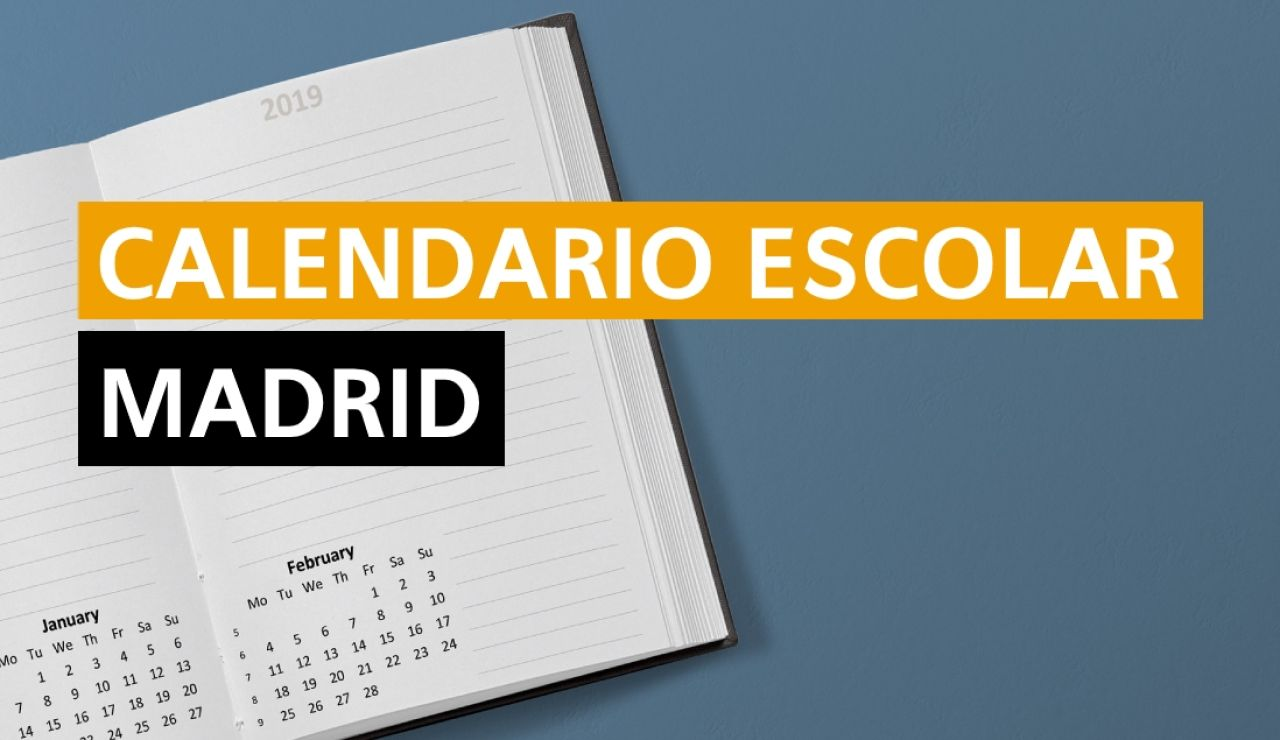 Calendario escolar Madrid 2020-2021