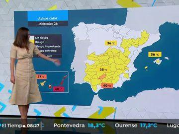 Cielos despejados y altas temperaturas en Canarias, Galicia, Andalucía y Baleares