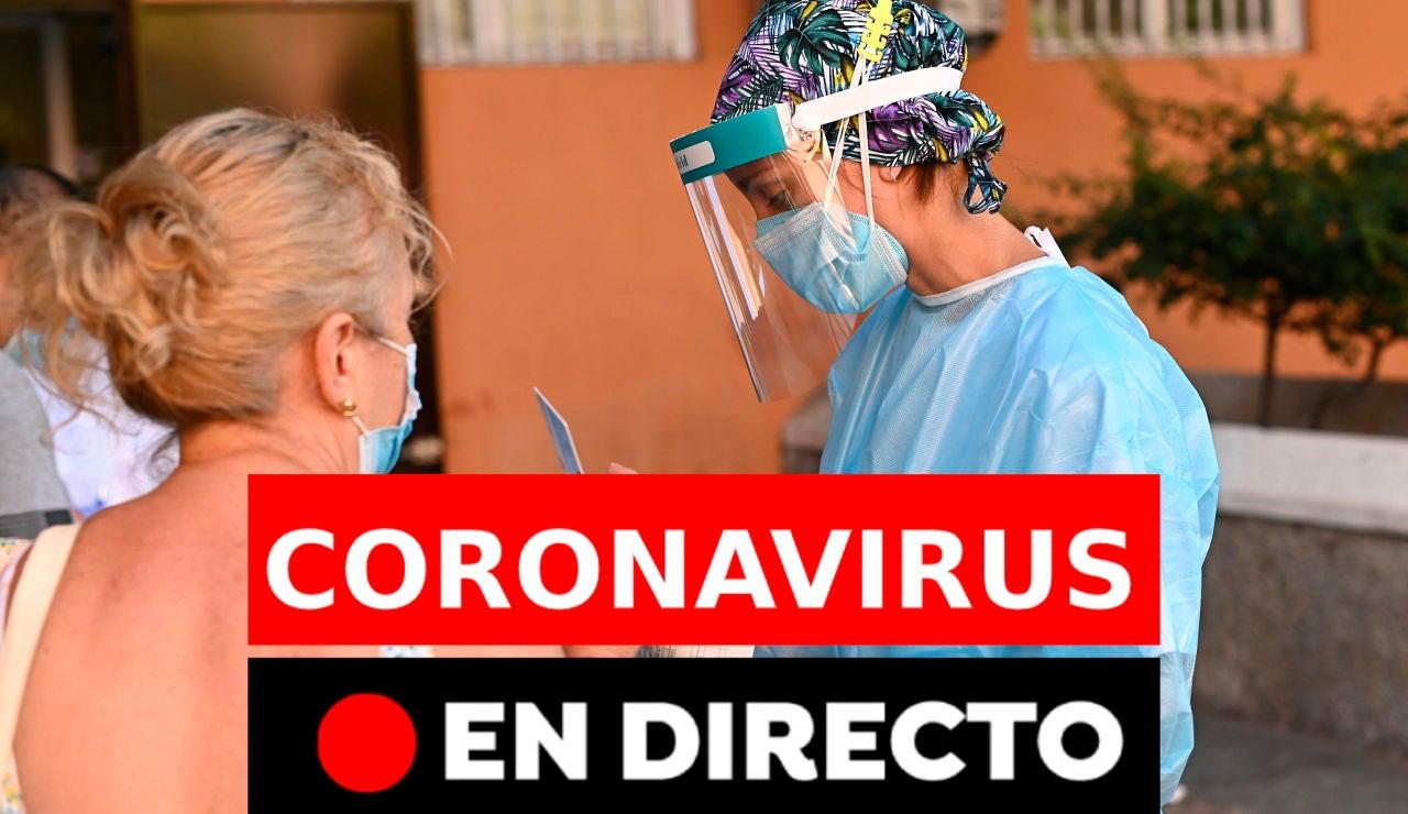 Coronavirus hoy: Rebrotes en España, contagios y últimas noticias del miércoles 26 de agosto, en directo