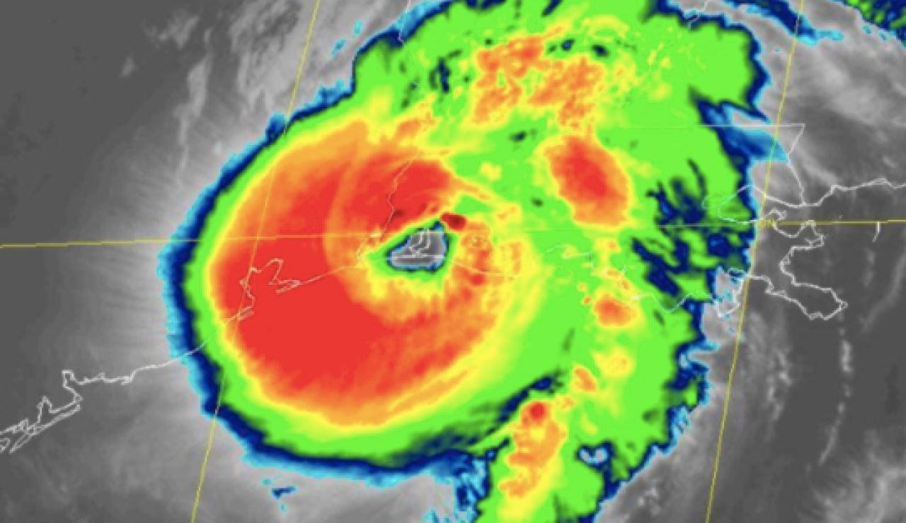 El huracán Laura se intensifica a categoría 4 a su llegada a Luisiana