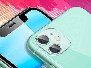 Cristal templado para la cámara del iPhone 11