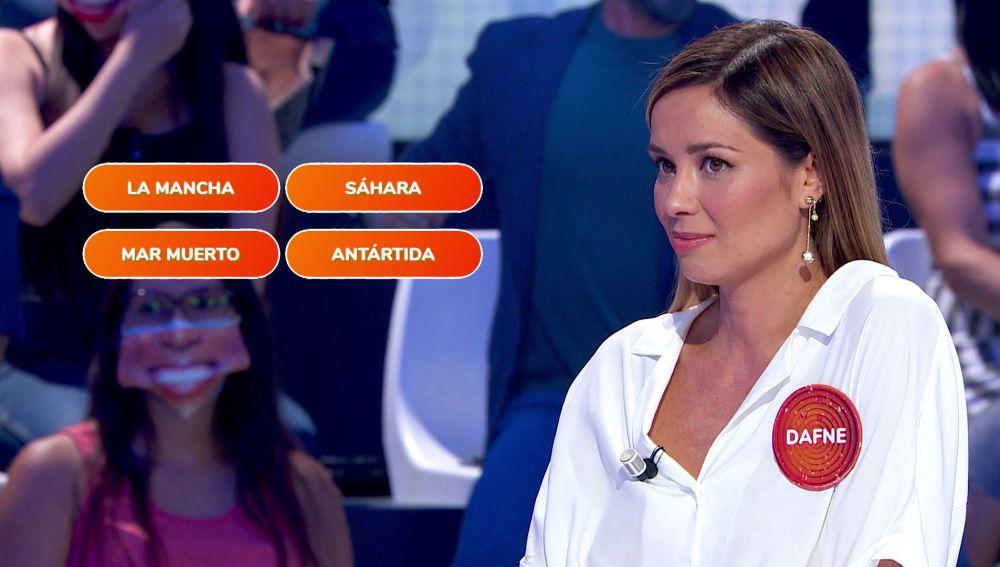 """La inesperada confesión de Dafne Fernández antes de enfrentarse a 'Una de Cuatro': """"Muy preparada… para cagarla"""""""