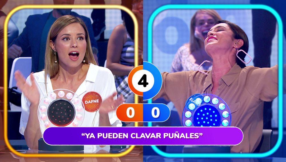 """Blanca Romero se luce cantando 'A tu vera' en 'La Pista': """"Lo has hecho precioso"""""""