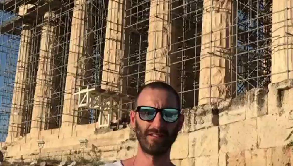 El chiste de Dani Rovira sobre el Partenón