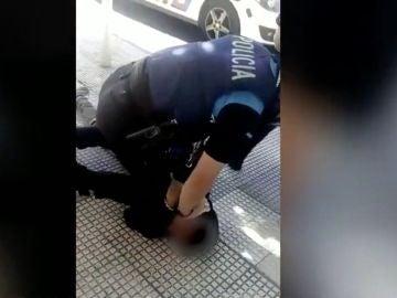 Detención en Miranda de Ebro