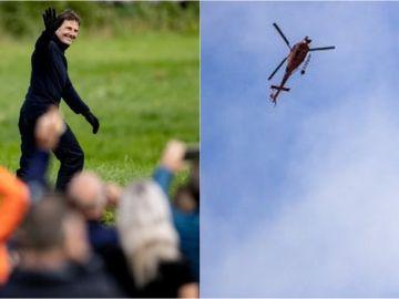 Tom Cruise durante su última escena de acción en Noruega