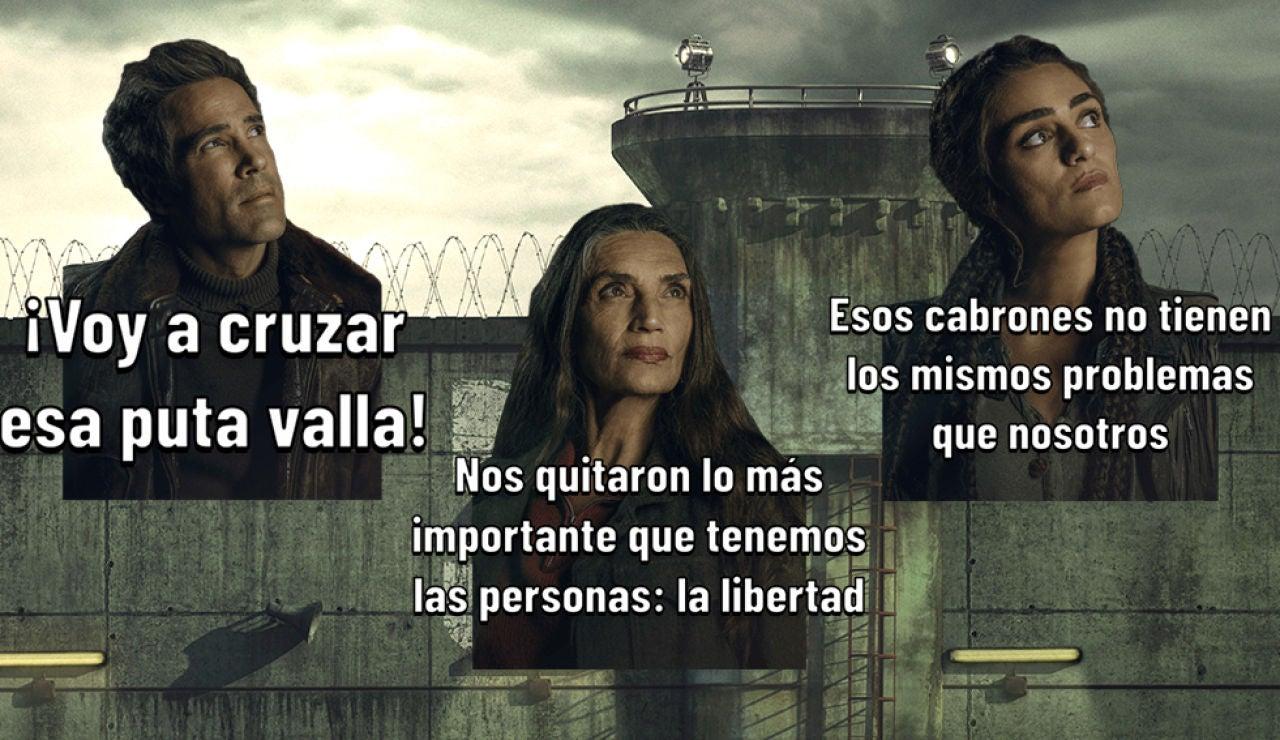 Descárgate los stickers oficiales de la serie 'La Valla'