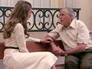 """El conmovedor momento entre Maica y su padre al saber que tiene cáncer: """"Quédate hasta el final"""""""