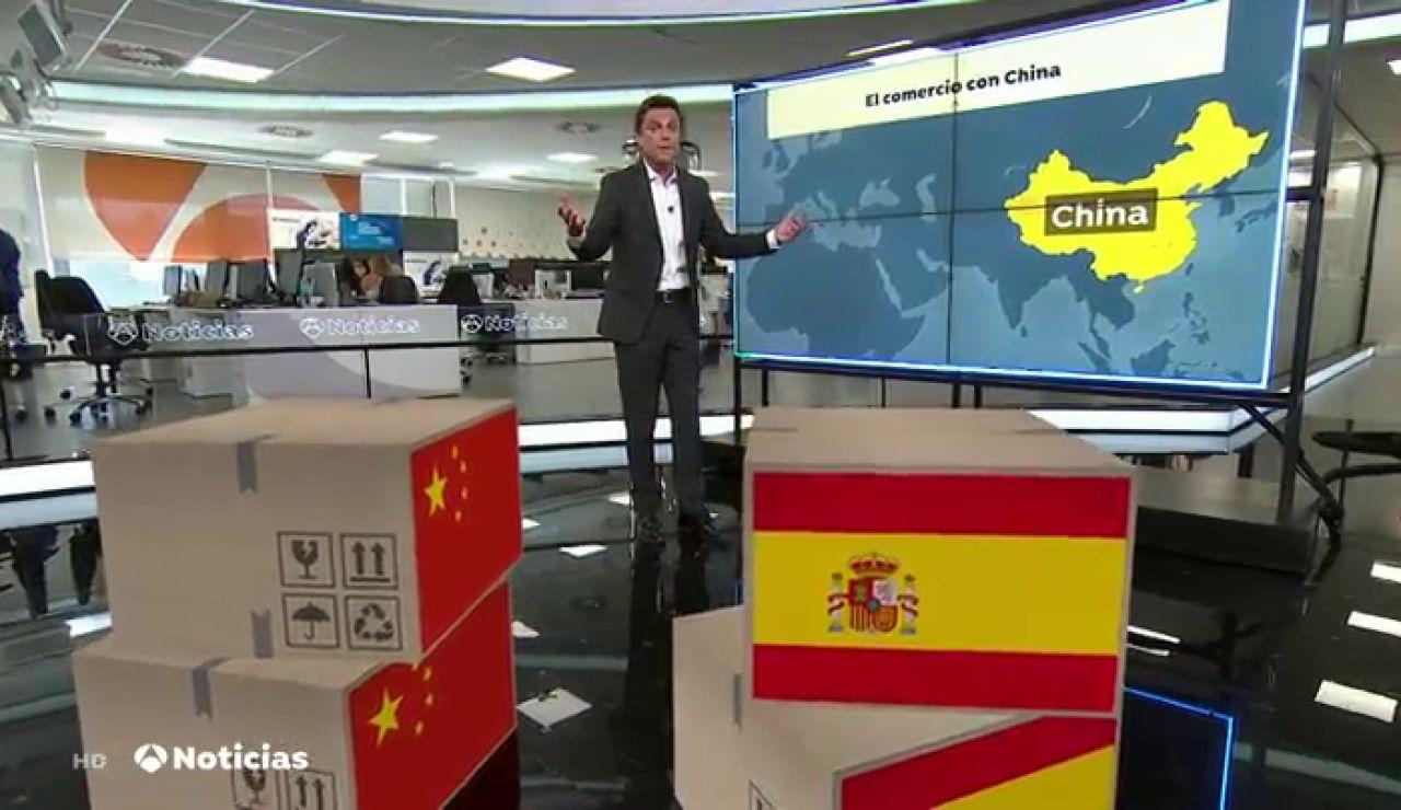 China vuelve a consumir jamón, vino y vino español