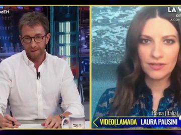 """Laura Pausini alerta sobre la emoción de 'La Voz': """"Es una bomba nuclear"""""""