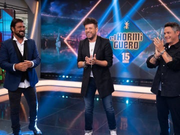 Antonio Orozco, Pablo López y Alejandro Sanz