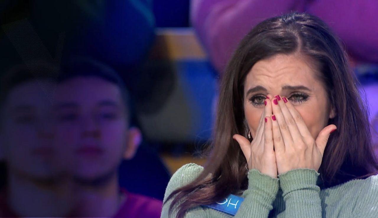 La sorpresa que emociona a Johanna Polvillo durante su paso por 'La ruleta de la suerte': ¡Estas en las Audiciones a Ciegas de 'La Voz'!