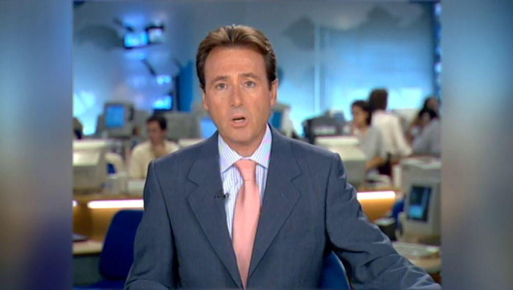 El momento en el que Matías Prats narraba los atentados del 11S