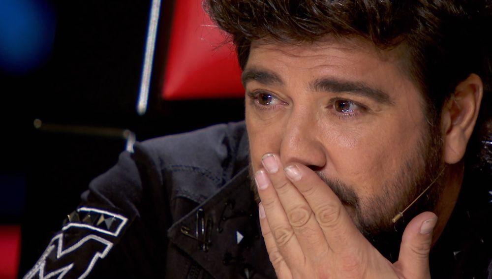 """Marcos Bartolomé emociona con sus palabras a Antonio Orozco: """"Tú entiendes lo que son las pérdidas"""""""