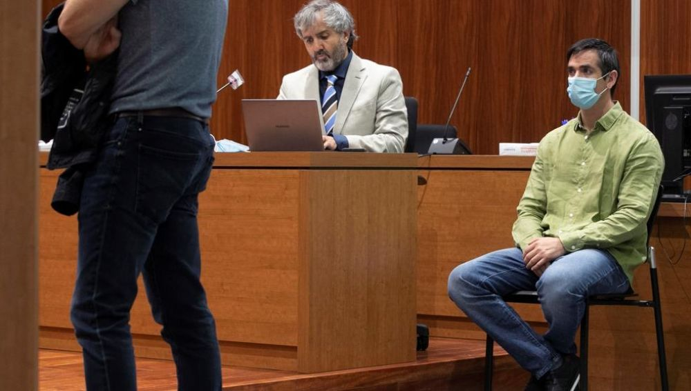 Sesión del juicio a Rodrigo Lanza