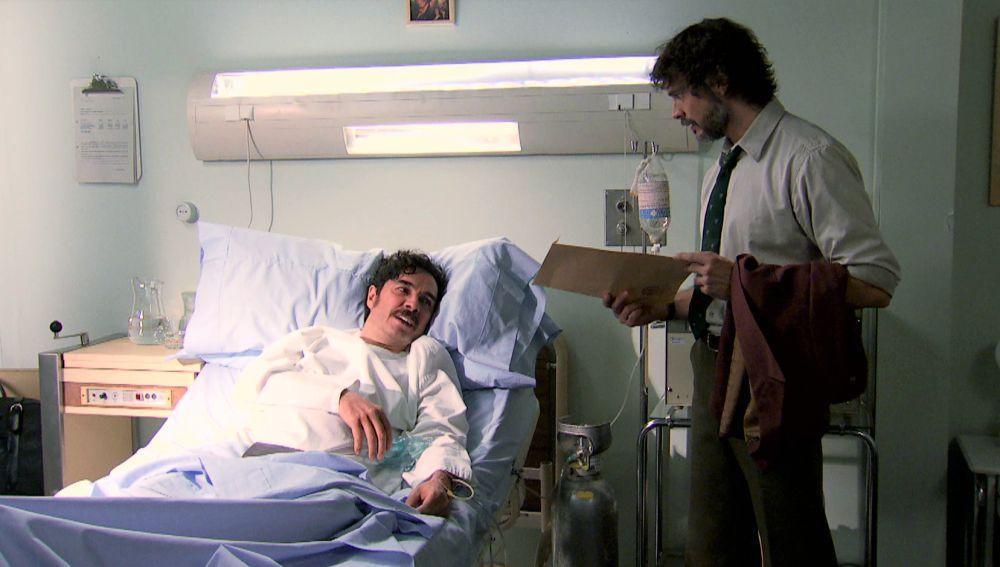 Guillermo visita a Ordóñez al hospital y recibe por su parte un imprevisto documento.
