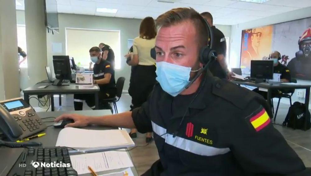 Los rastreadores militares comienzan a trabajar en Madrid y la Comunidad Valenciana para frenar el coronavirus