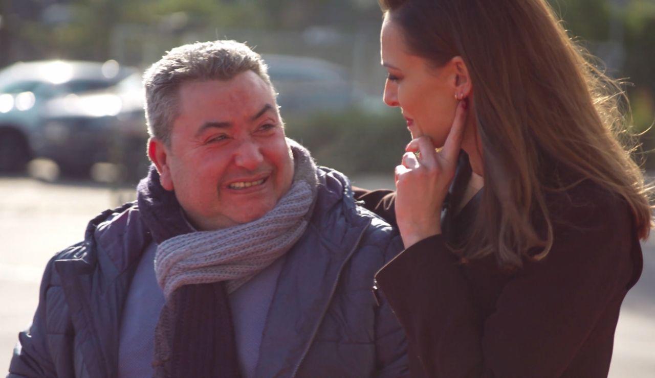 La sorpresa de Araceli Campillos a su padre