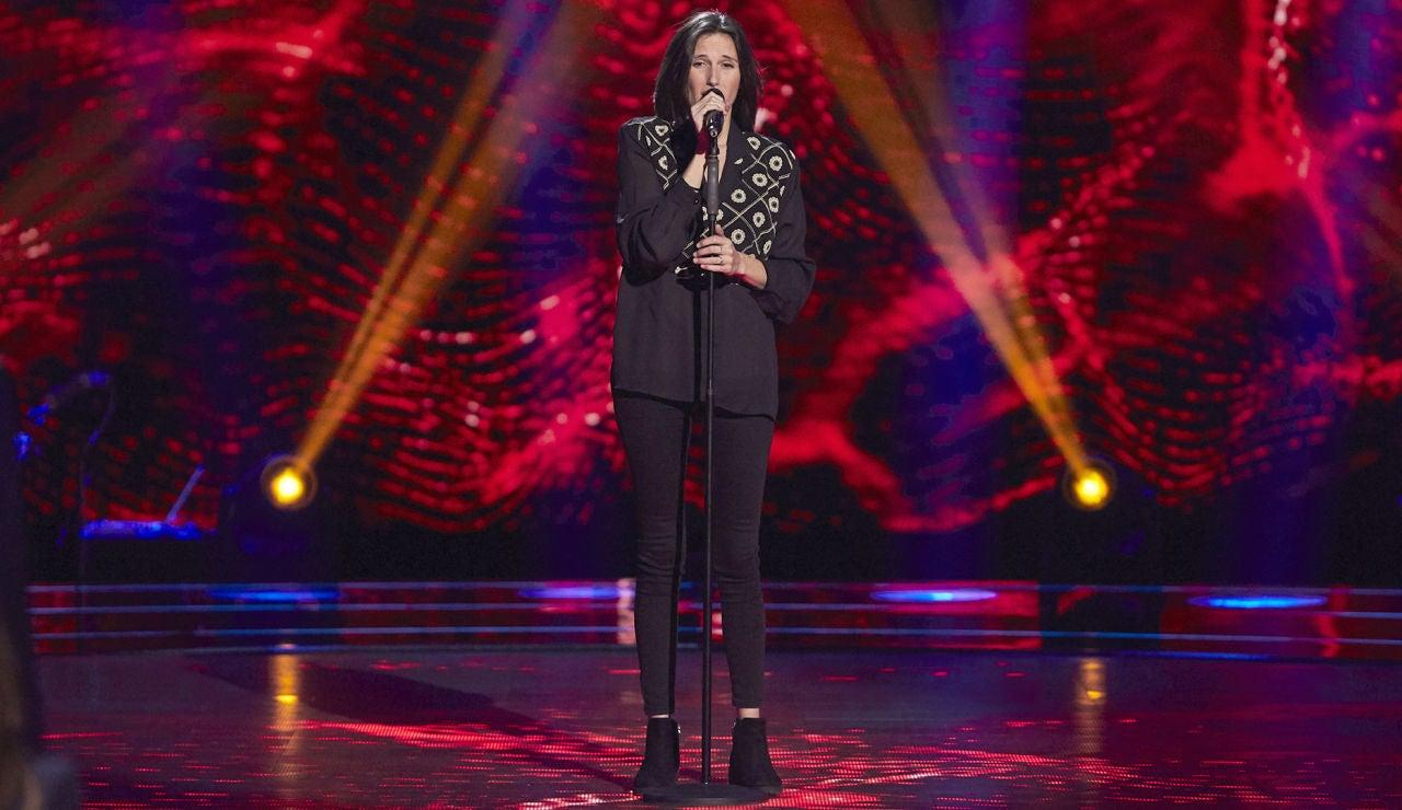 Mar Rodríguez canta 'Eso' de Alejandro Sanz en las Audiciones a Ciegas de 'La Voz'