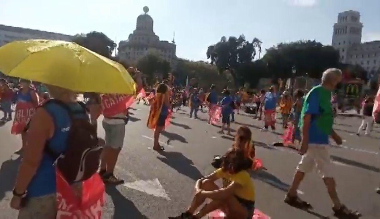 Acto de la ANC por la Diada, streaming en directo