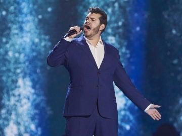 Marcos Bartolomé canta 'Cry me a river' de Michael Bublé en las Audiciones a Ciegas de 'La Voz'