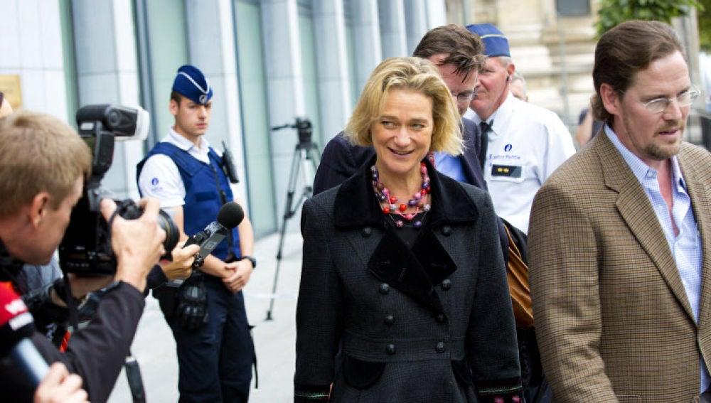 Delphine Boël, la hija ilegítima del rey Alberto II de Bélgica
