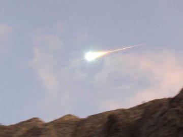 Una bola de fuego sobrevuela Andalucía a 83.000 km/hora