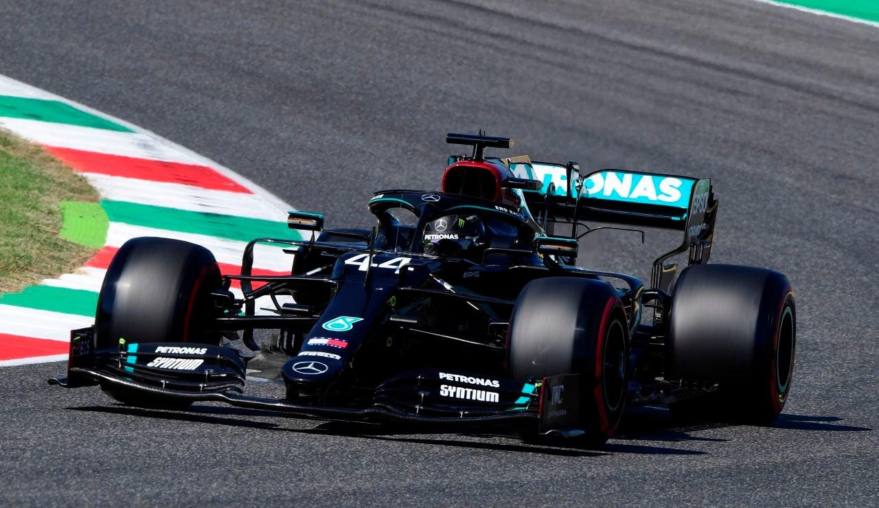 Hamilton, en el GP de la Toscana