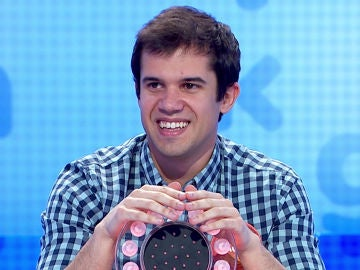 Nacho Mangut en 'Pasapalabra'