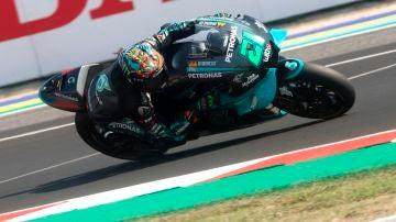 Franco Morbidelli, en el GP de San Marino