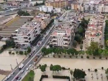 Primer aniversario de las duras inundaciones en Murcia tras una DANA