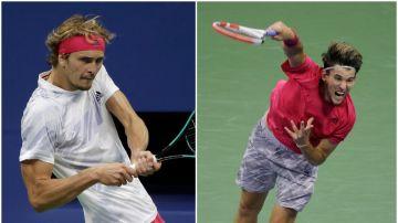 US Open: Horario y dónde ver hoy la final del Grand Slam de tenis entre Alexander Zverev y Dominic Thiem