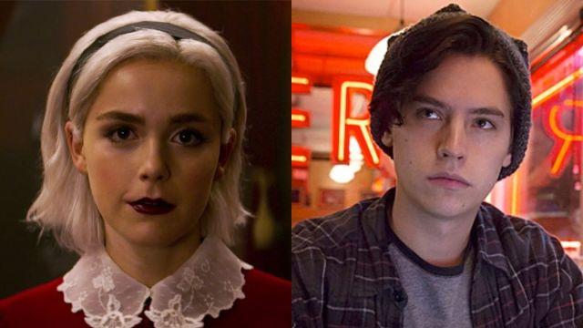 Kiernan Shipka en 'Las escalofriantes aventuras de Sabrina' y Cole Sprouse en 'Riverdale'