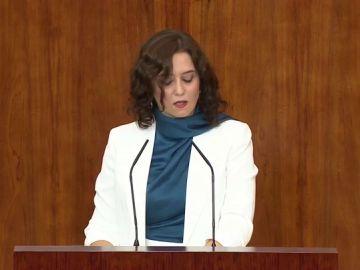 """Isabel Díaz Ayuso en su primer Debate del Estado de la Región: """"La Comunidad de Madrid se reactivará pronto"""""""