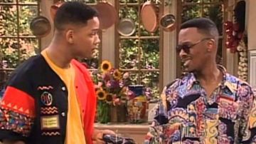 Will Smith y Jazz en 'El príncipe de Bel Air'