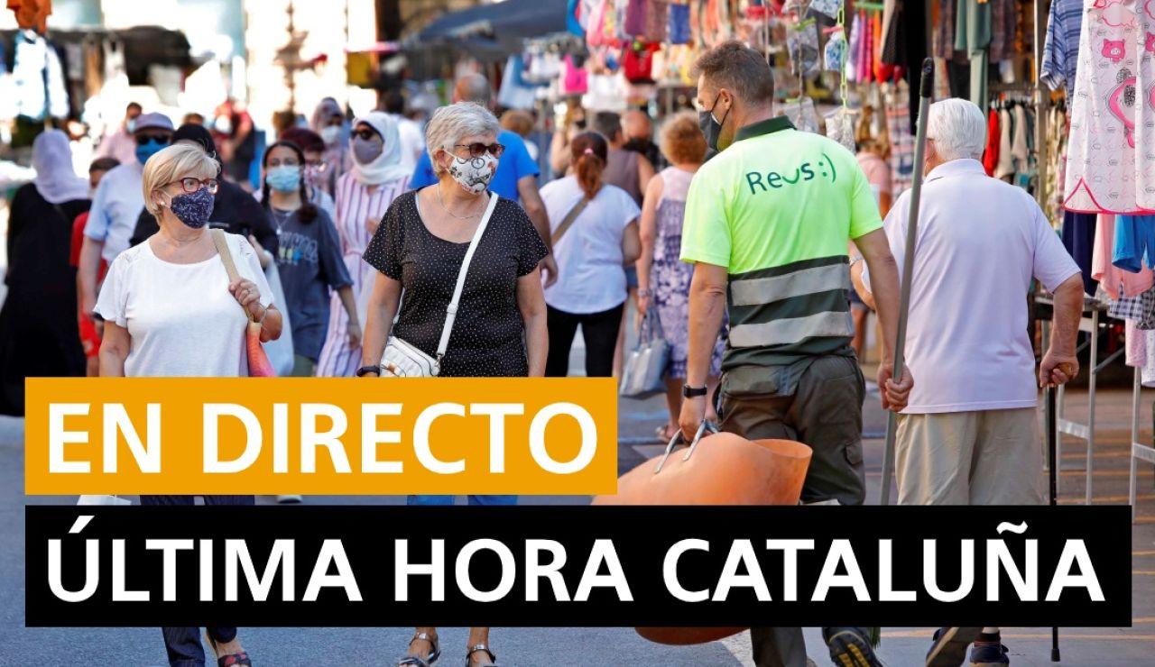Cataluña: Últimas noticias y nuevos casos hoy 14 de septiembre, en directo