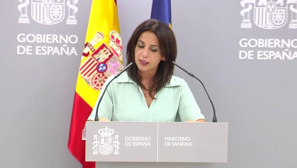 Silvia Calzón, secretaria de Sanidad