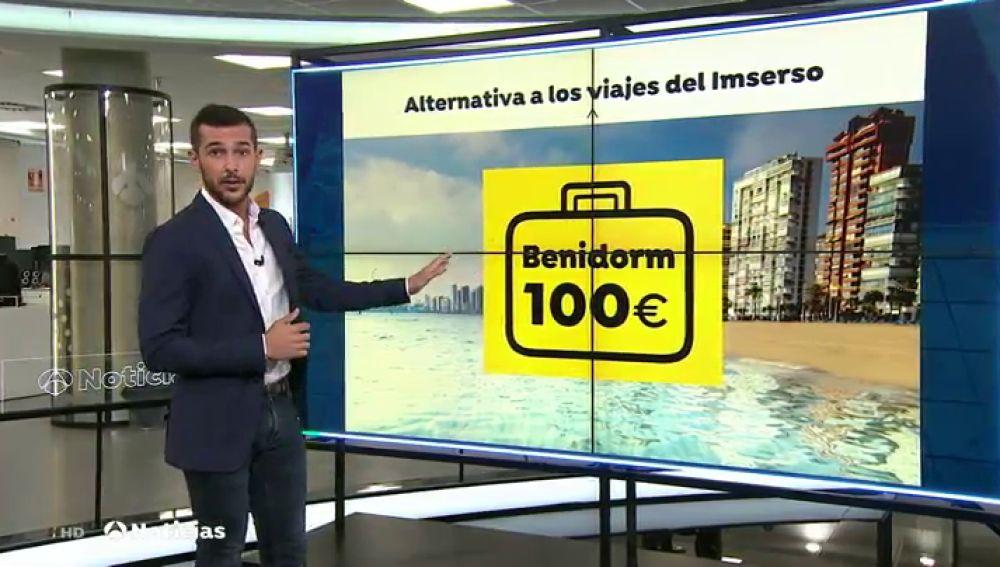Los viajes del Imserso tienen un nuevo competidor, una asociación de mayores de Fuenlabrada oferta viajes a Benidorm