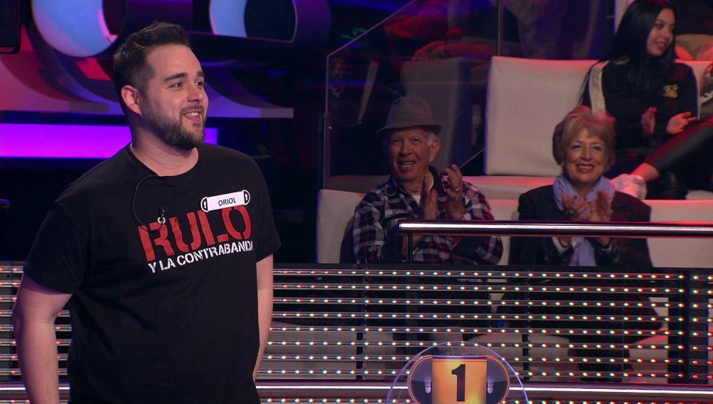 ¡Increíble! Un concursante imita a Mariano Rajoy en el plató de '¡Ahora Caigo!'
