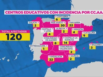 Mapa colegios