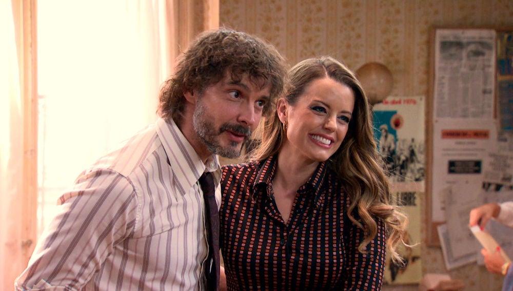 Lourdes y Guillermo anuncian su boda con gran emoción
