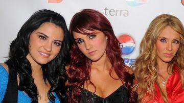 Maite Perroni, Dulce María y Anahí Puente ('RBD')