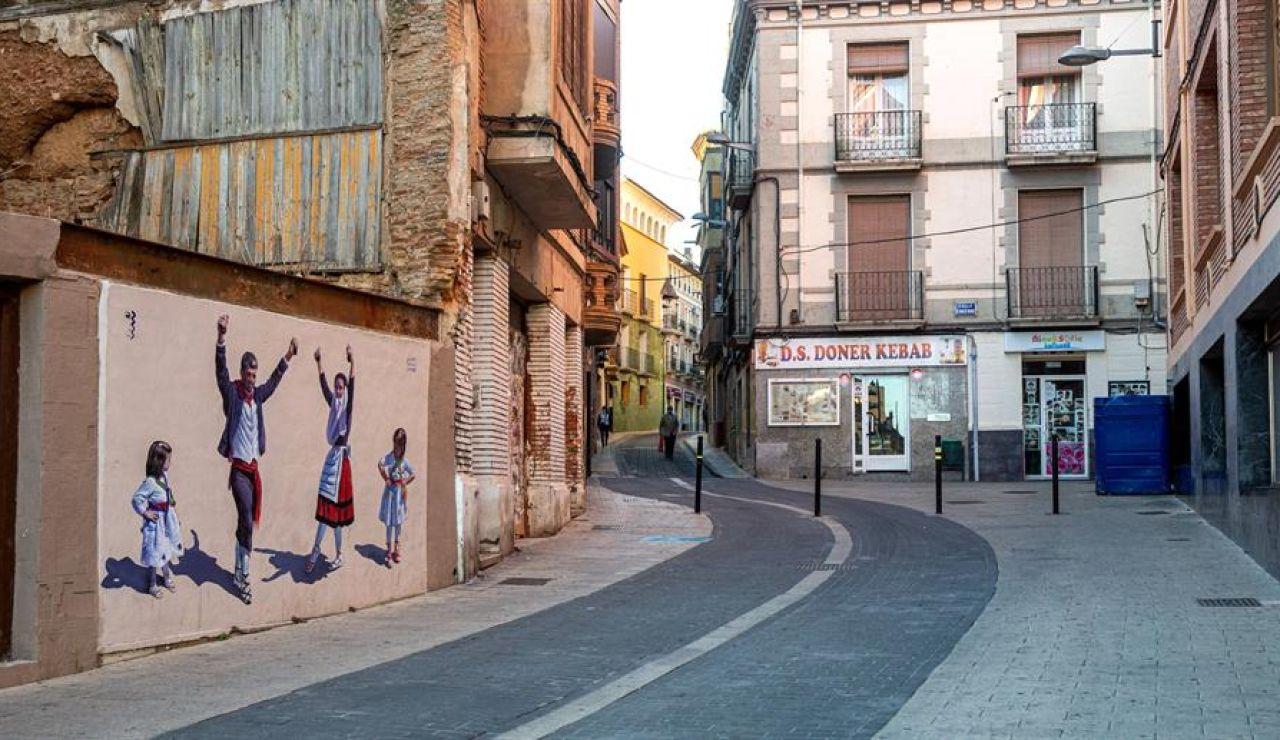 Imagen de las calles de Alfaro