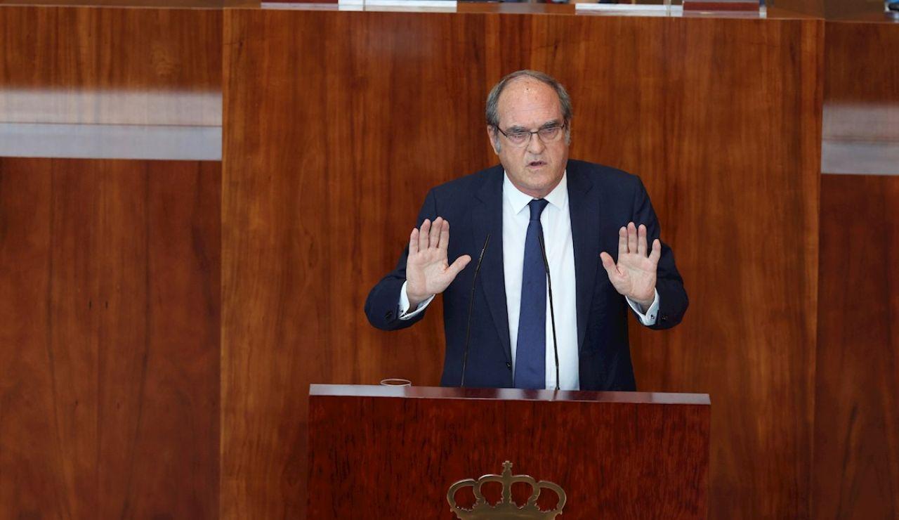 El líder del PSOE en Madrid, Ángel Gabilondo