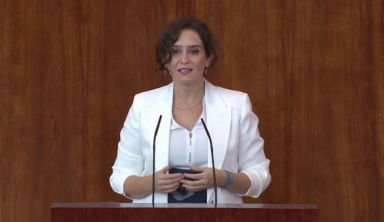 Isabel Díaz Ayuso dice que el modo de vida de los inmigrantes ha facilitado los contagios de coronavirus en Madrid