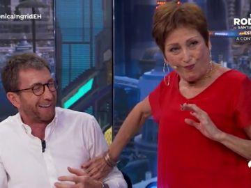 """Verónica Forqué reta a Pablo Motos en 'El Hormiguero 3.0': """"Prueba a cocinar un huevo frito en pelotas"""""""