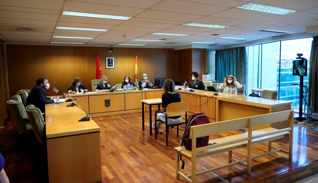 Imagen del juicio en la Audiencia Provincial de Madrid